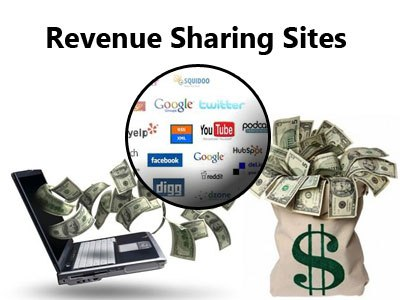 Earn Money and Get Free Traffic With Revenue Sharing Sites